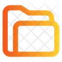 Folder Content Data Icon