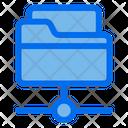 Folder Database Server Icon