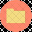 Folder Data Storage Icon