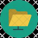 Folder Database Network Icon