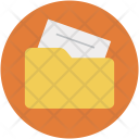Folder Collection Paper Icon