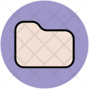 Folder Shape Stroke Icon