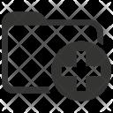 Folder Health Records Icon