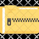 Folder Zip Archive Icon