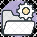 Folder With Gear Icon