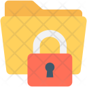 Folder Locked Security Icon