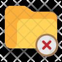 Folder Delete Erase Icon