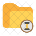 Folder Loading Time Icon