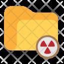 Folder Danger Warning Icon