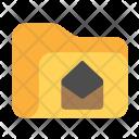 Folder Envelope Opened Icon