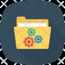 Folder Gear Options Icon