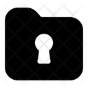 Locked Folder Folder Access Folder Key Icon