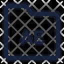 Folder Ae Icon