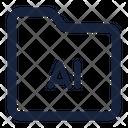 Folder ai Icon