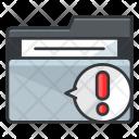 Alert Folder Folder Icon