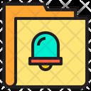 Alert Folder Folder Alert Icon