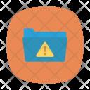 Folder Alert Warning Icon