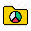 Graph Chart Folder Icon