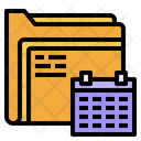 Folder Analysis Date Icon
