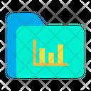 Folder Analytics Icon