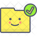 Folder Checkmark Checkmark Verified Icon