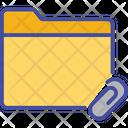 Attachment Documents Folder Icon
