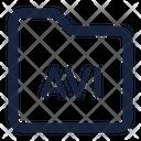 Folder Avi Icon