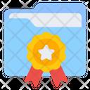 Folder Award Document Award Case Award Icon