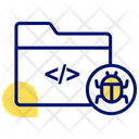 Folder Bug Foldar Bug Programmig Folder Icon