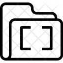 Folder Capture Data Icon