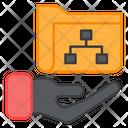 Folder Care Folder Document Care Icon