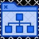 Folder Chart Folder Chart Icon