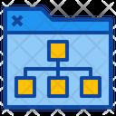 Seo Web Folder Icon