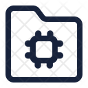Folder Chip Icon