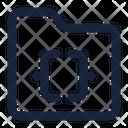 Folder Script File Icon