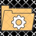 Folder Configuration Folder Setup Folder Maintenance Icon