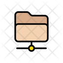 Files Sharing Network Icon