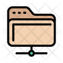 Folder Sharing Files Icon
