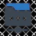 Folder Files Network Icon
