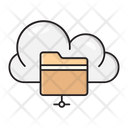 Folder Files Cloud Icon