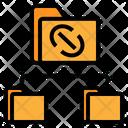 Data Link Folder Link Icon