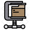 Compress Data File Icon
