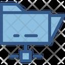 Networking Folder Storage Icon