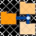 Folder Connection Folder Network Folder Icon