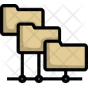 Folder Network Computer Icon