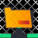 Folder Connection Folder Network Sharing Icon