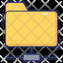 Folder Connection Database Server Icon