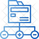 Folder Connection Icon