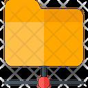 Folder Connection Folder Folder Code Icon