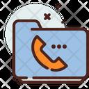 Folder Contact Icon
